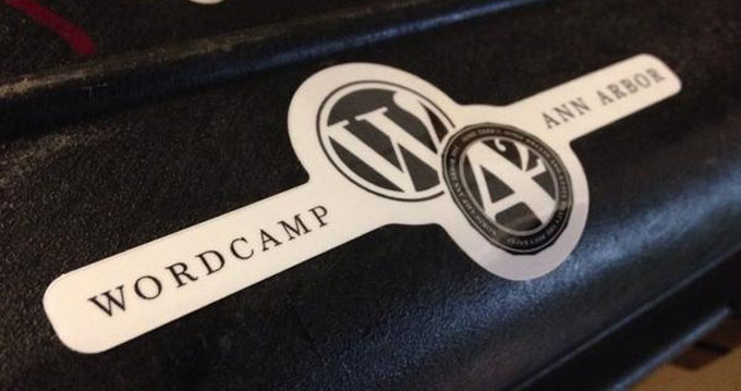 Ann Arbor Wordcamp Sticker