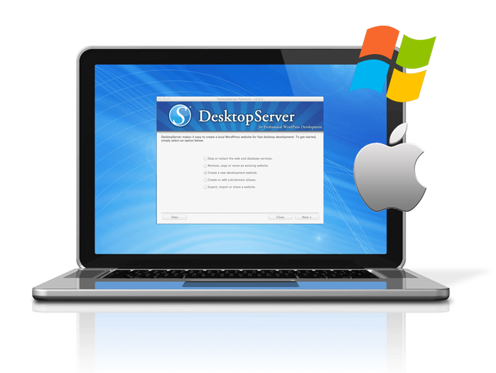 desktopserver wordpress local development for mac and windows