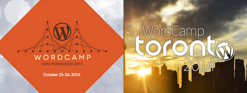 Sanf Fransisco & Toronto WordCamps