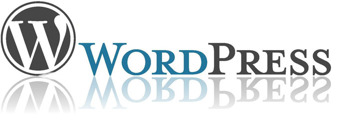 Reflective WordPress Logo