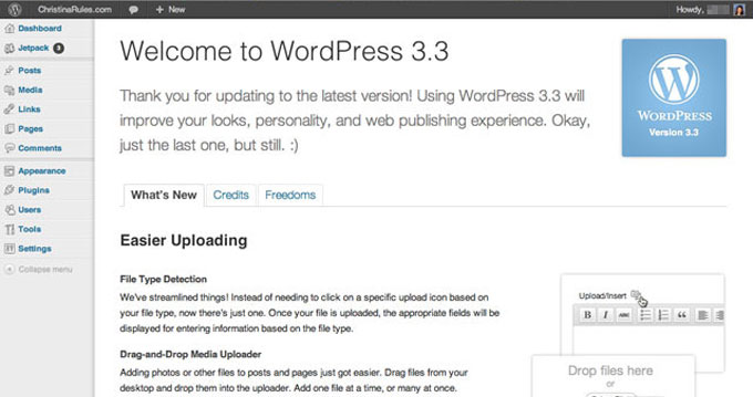How To Upgrade DesktopServer To WordPress 3.3