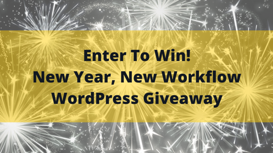 New Year New Workflow Giveaway