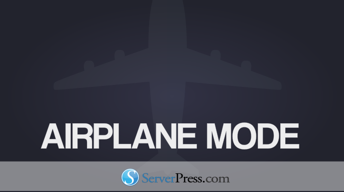 When To Use DesktopServer Airplane Mode