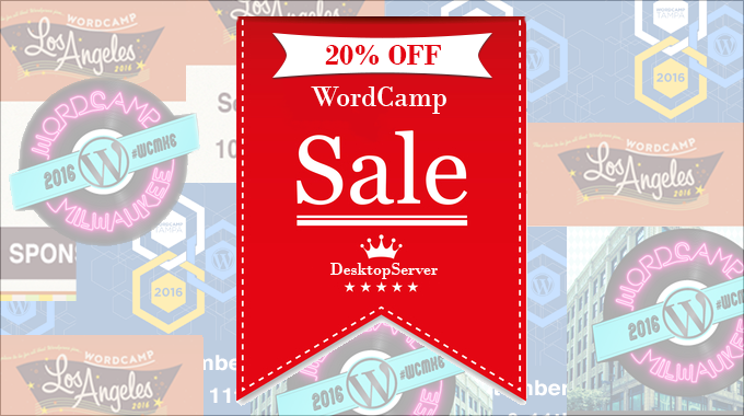 Desktopserver Coupon For Wordcamp La Tampa Milwaukee