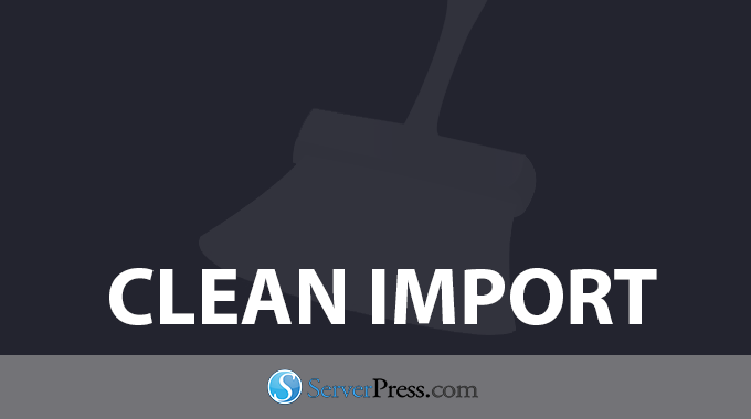 Serverpress Desktopserver Clean Import