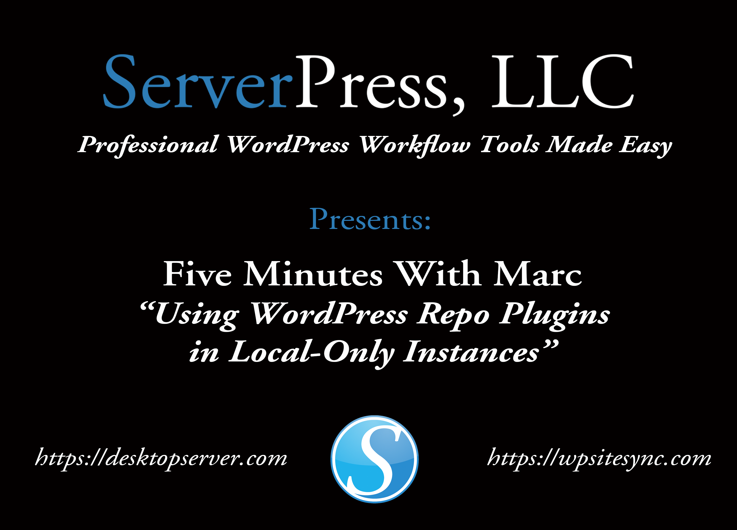 Announcing Our Latest Video Series: Five Minutes (or Less) With Marc
